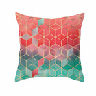 Premium Colourful Pattern Geometric Pillow Case Sofa Decor Throw Cushion Cover