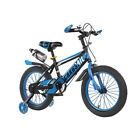 UK Kid Bike Aluminium Bicycle Cycle Blue/Red Removable Stabilisers 14 16 18 In