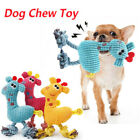 1pcs Pet Dog Puppy Chicken Chew Toy Squeaker Squeaky Soft Plush Play Sound Toys