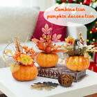 Maple Leaves Faux Pumpkins Artificial for Garland Halloween Thanksgiving Decor