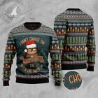 SLOTH LIFE 3D UGLY CHRISTMAS SWEATER S-3XL