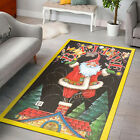 HOT MERRY CHRISTMAS SANTA CLAUS Area Rugs For Any Room, Anti-Skid Floor Carpet