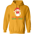 DON'T BE NAUGHTY WEAR A MASK Pullover Hoodie