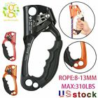 NEW Hand Ascender Rock Climbing Tree Arborist Rappelling for 8 13mm Gear Rope