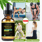 1 x 30ML/7000mg HEMP OIL Drops for Pain Relief,Stress,Anxiety (NATURAL ORGANIC)