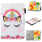 "For iPad 10.2"" 7th 8th Generation Mini 12345 Patterned Leather Smart Case Cover"