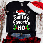 Funny Naughty Adult Pajama Christmas Tree Gift Unisex T-Shirt Size S - 5XL