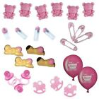 Baby Shower Table Decorations / Favours - Pink / Girl - Choose Item