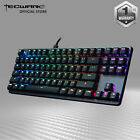 Tecware Phantom L, Low-profile RGB Mechanical Keyboard Brown Blue Red Switch