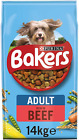 Bakers Adult Dry Dog Food Assorted Tastes/Size Essential Omega 6 Fatty Acids New