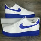 Nike	Air Force 1 Low '07 'White Royal Midsole' Sneakers (CK7663-103) Men's Sizes