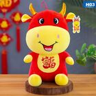 Year of the Ox Plush Toy New Year Doll Decoration New