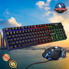 Best Gaming Keyboard And Mouse Gamer Kit With Backlight, For Computer / Laptop(: