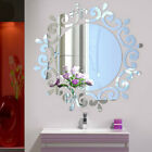 Removable 3d Mirror Wall Stickers Diy Sun Decal Mural Home Room Art Decor