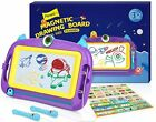 Magnetic Drawing Board Toy for 3+ Kids Large Doodle Writing Painting Sketch Pad