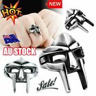 Size 7-14 Mf Doom Mask Gladiator Style Stainless Steel Ring Silver Stainless Hg