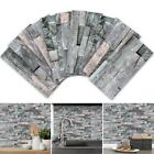 3d Mosaic Home Stickers Tile Stickers Bathroom Self-adhesive Kitchen Wall Decors