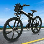 VIVI 26INCH Folding Electric Bike Mountain Bicycle Adult City Ebike 21Speed 350W