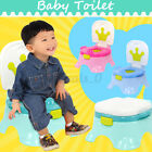 3 In 1 Boys Girls Training Potty Chair Baby Toddler Toilet Trainer NUrinal