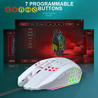 X801 Wired Mouse Hole Hollow Luminous Desktop Computer Notebook Office Gamemouse