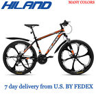 HILAND 26 inch 21 Speed Suspension Bike Double Disc Brake Mountain Bike Bicycle