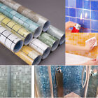 Self Adhesive Bathroom Tile Stickers Home Decor Wallpaper Oil-proof Wall Paper