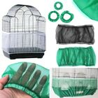 Nylon Mesh Bird Cage Cover Shell Skirt Net Easy Cleaning Bird Cage Accessories
