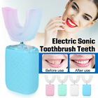 6 Modes 360  Automatic Electric Brush Whitening Toothbrush Rechargeable U shape