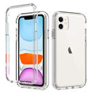For Apple iPhone 12 Pro Max 11 12 Mini Shockproof Clear Crystal Case Phone Cover