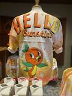 NEW Disney Parks 2021 EPCOT Flower and Garden Festival Orange Bird Spirit Jersey