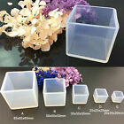 Diy Silicone Pendant Mold Jewelry Making Cube Resin Casting Mould Craft Tool ..