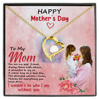 To My Mom You Are My Best Friend Always Forever Love Pendant Necklace