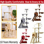 Cat Tree Large Climbing Tower Kitten Scratching Scratcher Post Activity Centre !