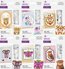 NEW 2021 Gemini Illustrated Animals Dies  Stamps Set by Crafters Companion