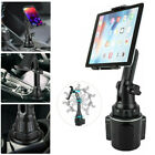 "NEW Universal Car Cup Holder Cellphone Mount Stand for Phone Tablet 4.7""-12.9"""