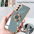 Phone Case For Samsung S20 Fe S21 Ultra A52 Magnetic Shockproof Ring Stand Cover