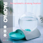 2.8L PP Automatic Pet Cat Dog Drinker Gravity Water Dispenser Drinking Bowl Dish