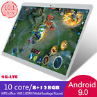 """Usa 10.1"""" Wifi/4g-lte 8g+128g Android 9.0 Hd Pc Tablet Pad Sim Gps Dual Camera"""