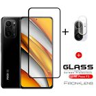 For Xiaomi POCO F3 X3 Pro M3 Full Cover Tempered Glass  Camera Lens Protector