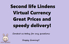 Second Life Lindens - Cheap virtual In game currency Great Prices Fastest Deliv