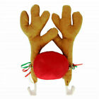 Xmas Reindeer Antlers Car AutoTruck SUV Christmas Decoration Accessories Gifts