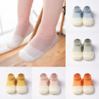 Newborn Baby Home Crib Shoes Boots Toddler Mesh Anti-Slip Socks Slipper