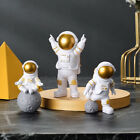 3pcs Astronaut Ornament Action Figure Cake Topper Home Decoration Birthday Gifts