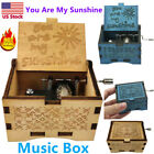 Wooden Music Box Mum/Dad To Daughter - You Are My Sunshine Engraved Toy Kid Gift