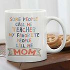 Mother Teacher Coffee Mug Gift Mother's Day Mom Birthday Present Idea For Her