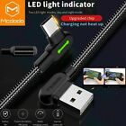 USB Type C to USB 3.0 A Male Cable Fast Charging 5Gbps Data Cord with LED Light