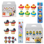 LICENSED CHARACTER Cake Decorations - Sugar Pipings Pick Candles Cake Cases