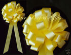"""10 pcs 8"""" WEDDING PULL PEW BOWS BRIDAL SHOWER DECORATION CHAIR TABLE CENTERPIECE"""