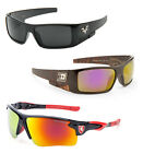 Men Extra Dark Lens West Chopper Large Biker Sports Sunglasses Eyewear Black Loc