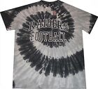 Oakland Raiders NFL Team Apparel Men's Tie Dye Shirt Big And Tall Sizes